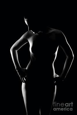 Dominant Women Photograph - Erotic Contour  by Jochen Schoenfeld