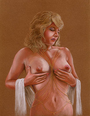 Nude Female Painting - Erotic Dreams by Shelby