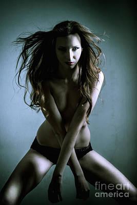Portrait Photograph - Erotic Portrait by Jochen Schoenfeld