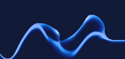 Nude Digital Art - Erotic Waves by Steve K
