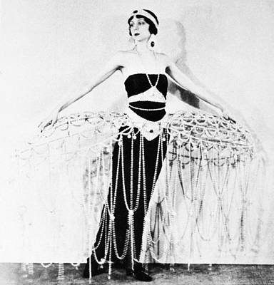 Erte Photograph - Ert� Costume, 1922 by Granger