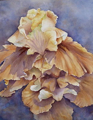 Eruption II--flower Of Rebirth Art Print by Mary McCullah