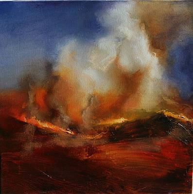 Painting - Eruption by Lissa Bockrath
