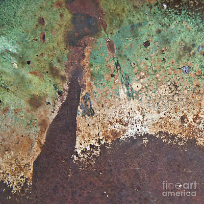 Photograph - Eruption Volcanic Abstract Square by Lee Craig