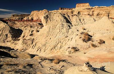 Photograph - Escalante Badlands by Adam Jewell