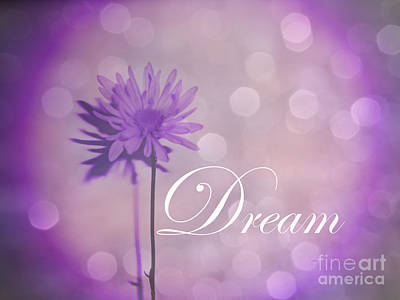 Wild And Wacky Portraits Rights Managed Images - Escape Everyday Life and Dream in Lavender Purple Royalty-Free Image by Adri Turner