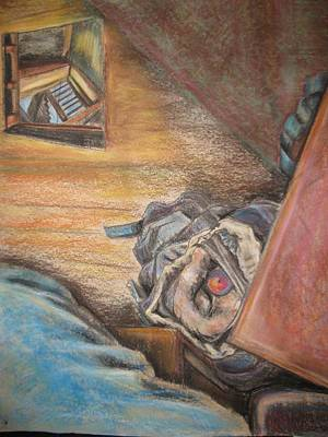 Drawing - Escape Hatch by Ellen Howell