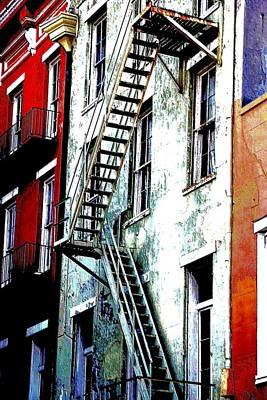 Escape Art Print by Kathy Bassett