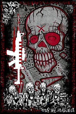 Escape Plan 7 Art Print by Josh Brown