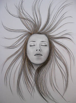Escaping Art Print by Lynet McDonald