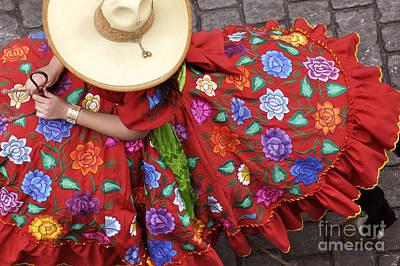 Escaramuza Charra Art Print by Kristine Celorio