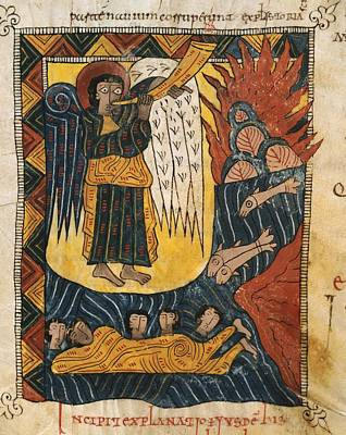 Escorial Beatus. 950 - 955. Cod & II Art Print by Everett