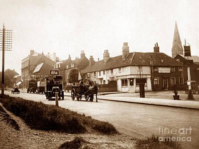 Esher Photograph - Esher High Street England by The Keasbury-Gordon Photograph Archive