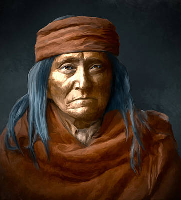 Digital Art - Eskadi - Apache by Rick Mosher