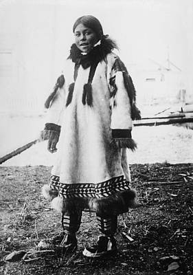 Photograph - Eskimo Girl by Granger