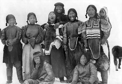 Photograph - Eskimos, C1913 by Granger