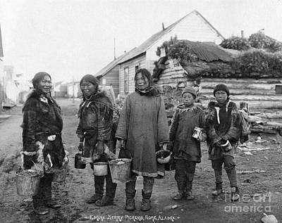 Photograph - Eskimos by Granger