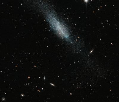 Eso 149-3 Galaxy Print by Esa/hubble & Nasa