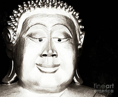 Photograph - Esotropic Buddha  by Ethna Gillespie