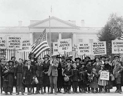 Espionage Act Protest, 1922 Print by Granger