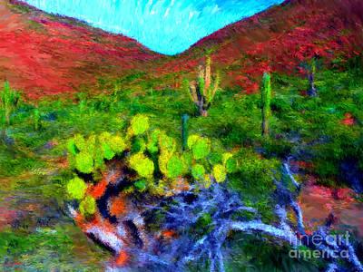 Espiritu Santo Cactus 3 Art Print by Gerhardt Isringhaus