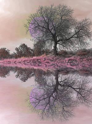 Photograph - Espiritual Water Mirror by Jesus Nicolas Castanon