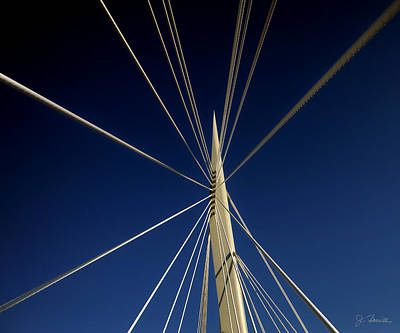 Photograph - Esplanade Riel In Winnipeg by Joe Bonita