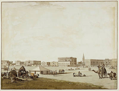Esplanade Row And The Council House Art Print by British Library