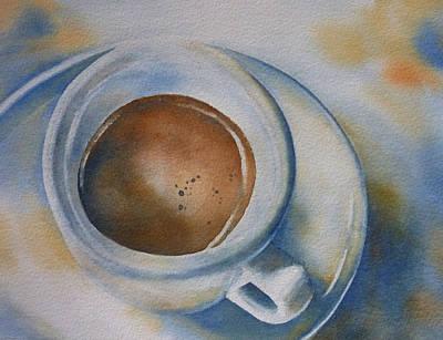 Espresso Painting - Espresso 2 by Thomas Habermann