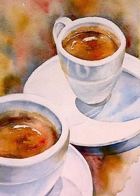 Espresso Painting - Espresso 3 by Thomas Habermann