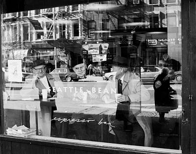 Photograph - Espresso Bar Ny by Dave Beckerman