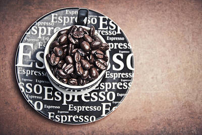 Tasting Photograph - Espresso Coffee by Mesha Zelkovich
