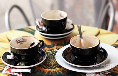 Photograph - Espresso by John Rizzuto