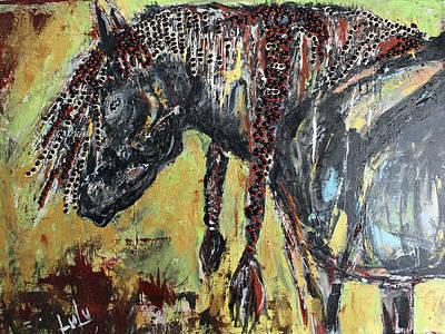 Painting - Espresso by Lucy Matta - Lulu
