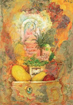 Sukkot Painting - Esrog by Michoel Muchnik