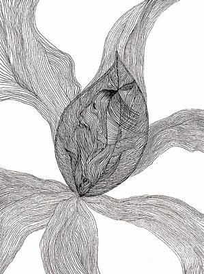 Drawing - Essence Of Women by Mukta Gupta