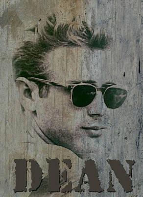 Digital Art - Essential James Dean by Greg Sharpe