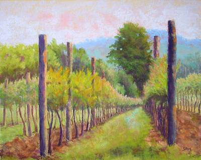 Estate Pinot Art Print