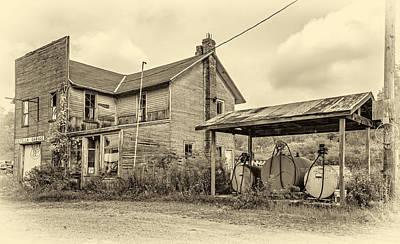 Basketball Photograph - Estella Garage 4 Sepia by Steve Harrington