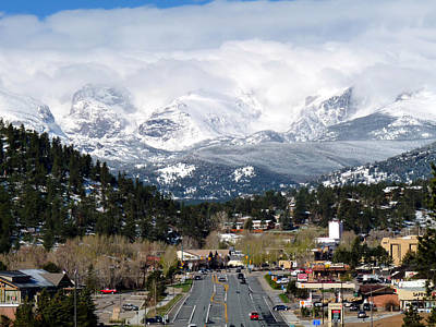 Estes Park In The Spring Art Print