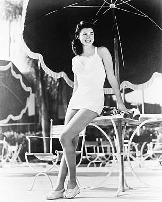 Esther Williams Art Print by Silver Screen