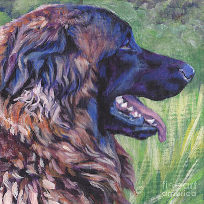 Painting - Estrela Mountain Dog by Lee Ann Shepard