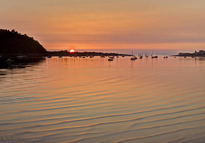 Photograph - Estruary Harbour Sunset by Beverly Cash