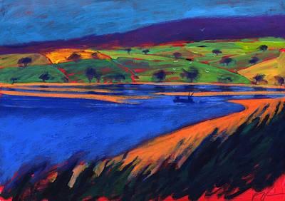 Estuary Art Print by Paul Powis