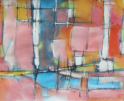 Hari E. Thomas Abstract  - Estuary City by Hari Thomas