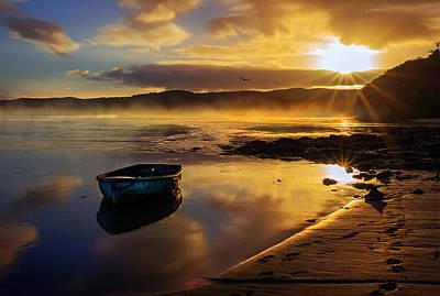Wall Art - Photograph - Estuary Sunrise by Mal Bray