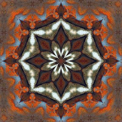 Photograph - Estuary Sunrise Mandala by I'ina Van Lawick