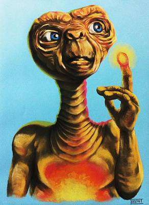 E.t. The Extra Terrestrial  Art Print