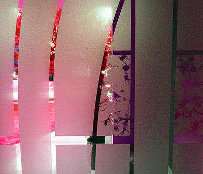 Photograph - Etched Glass 4 by Laurie Tsemak