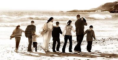Eternal Family Art Print by Helen Thomas Robson